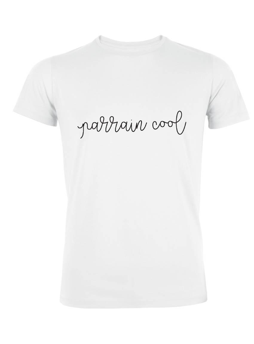 Shirt À Cool Bio Parrain T Message Homme R3A5L4j