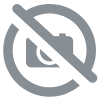 Sticker effet carreaux de ciment Union Jack rose